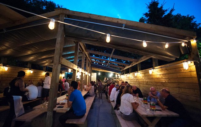 Introducing: Big Crow, Anthony Rose's new backyard barbecue tucked behind Rose and Sons diner