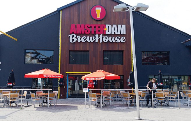 Introducing: Amsterdam BrewHouse, a 14,000-square-foot brewpub, retail store and lakeside extravaganza
