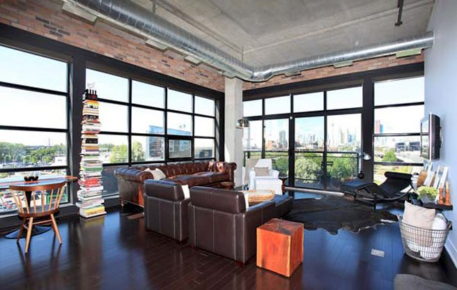 Condo of the Week: $625,000 for a one-bedroom loft in a former Rexall warehouse in the east end