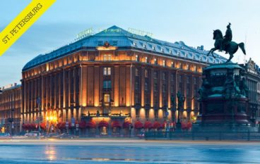 The Constant Travellers: St. Petersburg, Russia