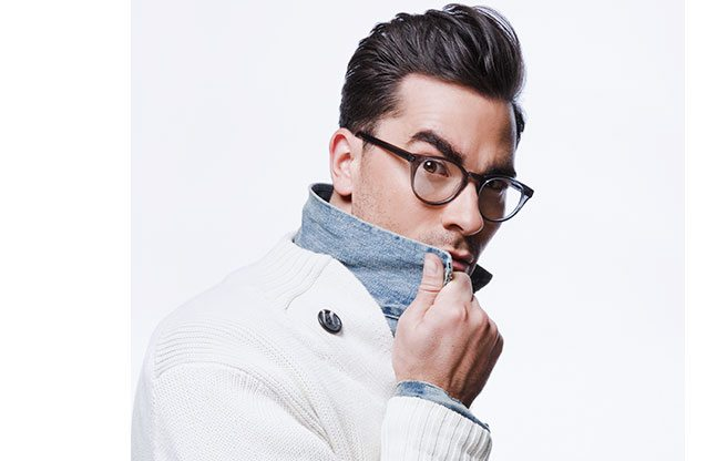 The Find: bespectacled TV host Dan Levy's new line of affordable, thick-rimmed eyewear