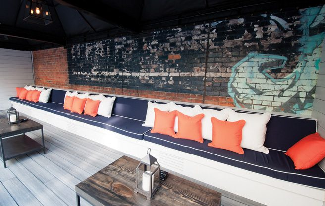 Introducing: EFS, a new rooftop bar and hookah lounge on King West