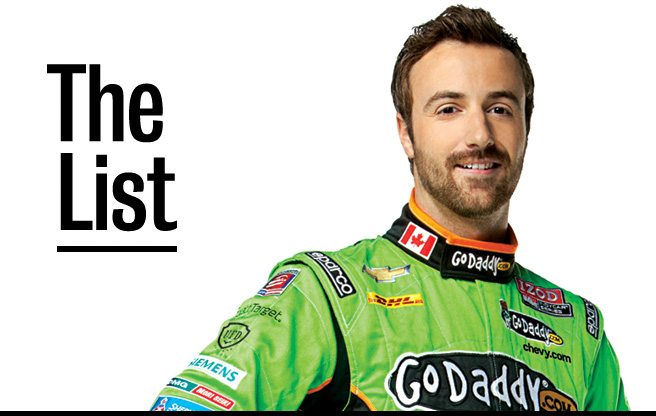 The List: 10 things Indy hotshot James Hinchcliffe can't live without