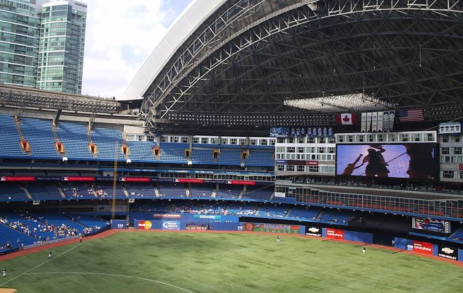 The Rogers Centre has mysteriously become baseball's home run capital