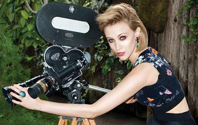 Sarah Gadon is ready to heat up Hollywood