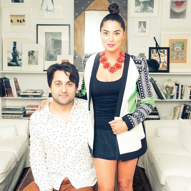 Style Mates: Hami and Renata Kaveh