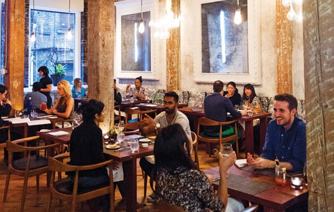 Review: meticulous dishes and whimsical decor at Woods in St. Lawrence Market