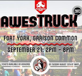 AwesTRUCK 2013 food truck rally takes over Fort York in September