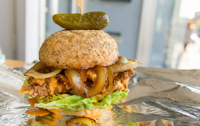 Two former Susur chefs bring gloriously messy sandwiches to Bloordale Village
