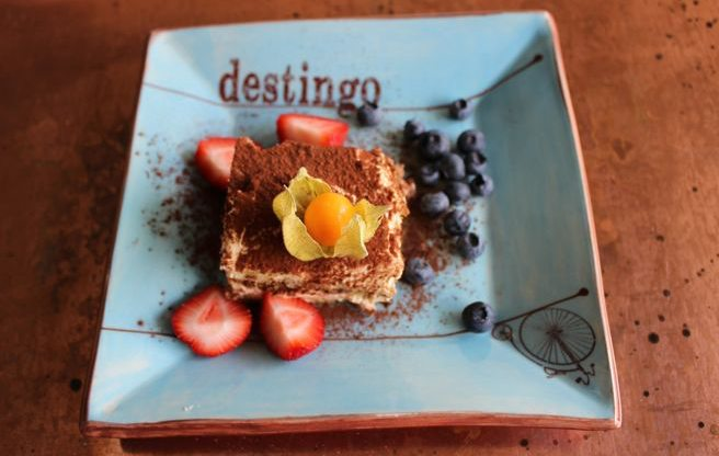 Introducing: Destingo, a new trattoria on Queen West with a sprawling front patio