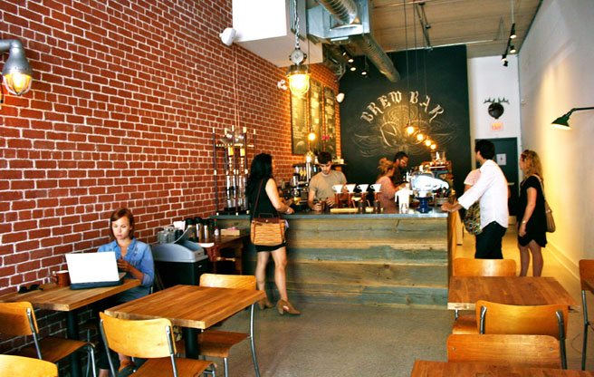 A new Queen West coffeehouse for the laptop-toting crowd