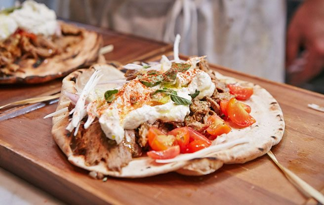 Introducing: Trinity Taverna, a new Greek restaurant in the Beach with a palatial terrace