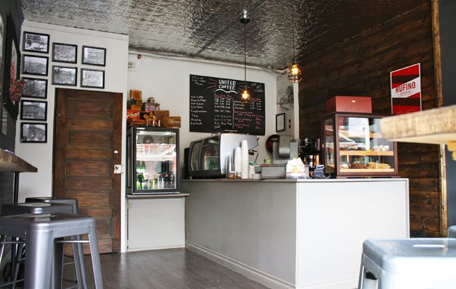 A new, cigar-themed coffee shop at College and Ossington