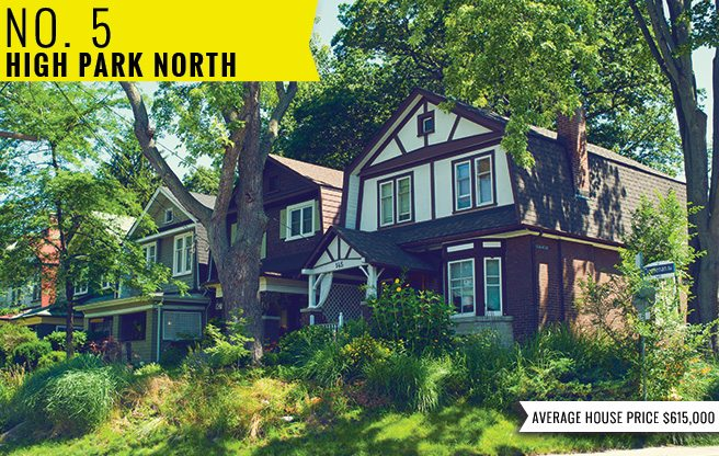 The Best Places to Live in the City: A (mostly) scientific ranking of all 140 neighbourhoods in Toronto: High Park North