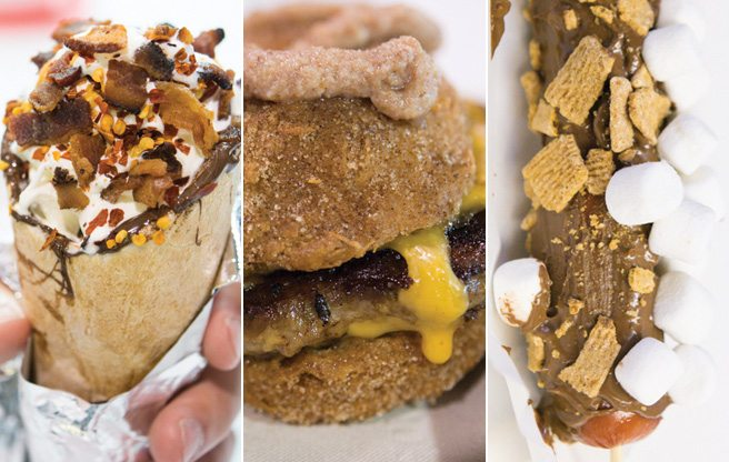 CNE Snacks 2013: we try bacon milkshakes, chocolate-covered franks and more at this year's culinary freak show