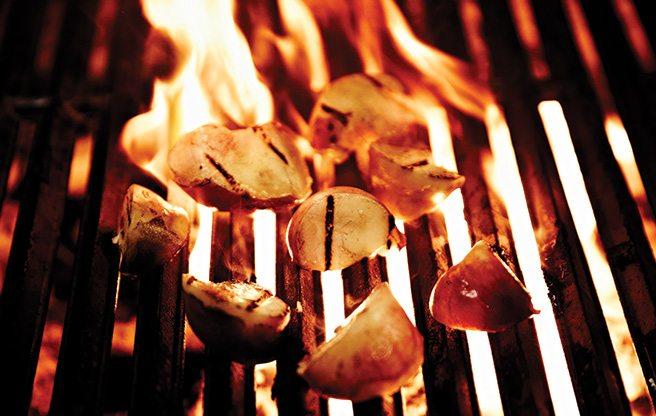 Prep School: Toca chef Gihen Zitouni's savoury ways with saturn peaches
