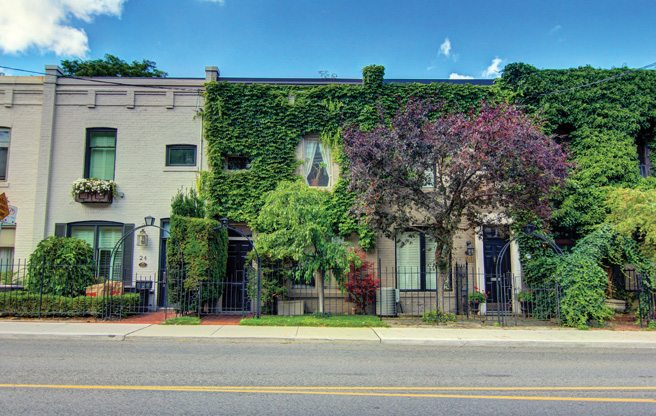 House of the Week: $1.1 million for a quirky, vine-covered row house in Yorkville