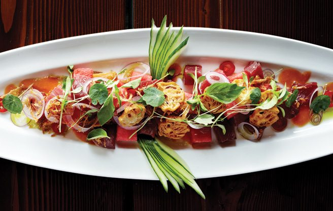 Must-Try: spicy tuna ceviche to swoon over at Bent