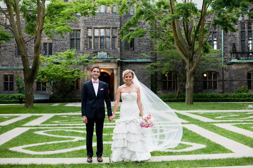 Real Weddings 2013: a pink-infused party at the Gardiner Museum