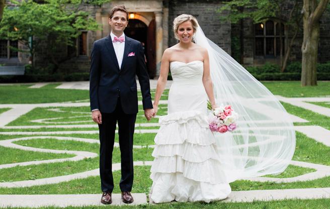 Real Weddings 2013: Lindsay and Tim