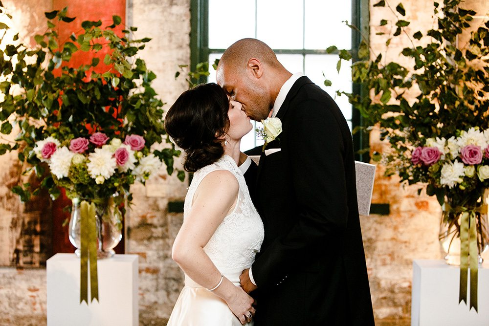 Real Weddings 2013: an intimate wedding in a Distillery District art gallery