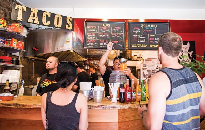 Review: Seven Lives, a bustling takeout taqueria in Kensington Market