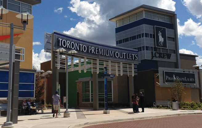Teeming crowds and designer discounts at Toronto's newest and biggest outlet mall