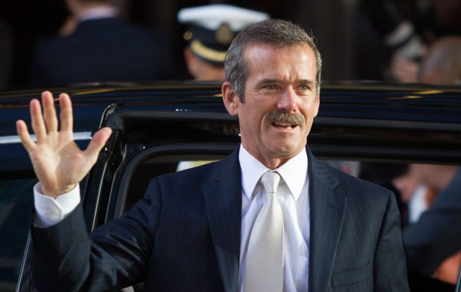 Quoted: Canadian astronaut Chris Hadfield on his new celebrity crush