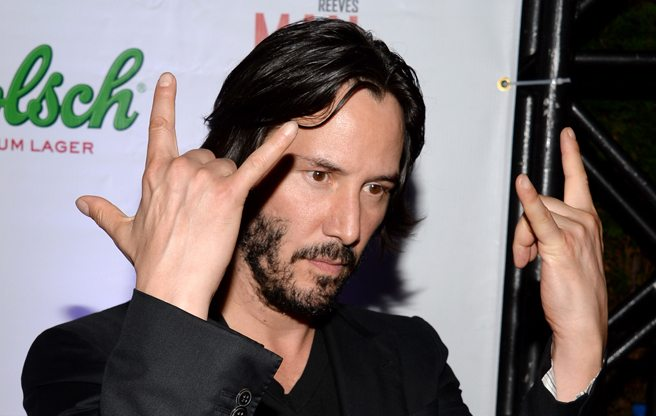 TIFF Party: Keanu Reeves pounds beers and chain-smokes at the after-party for Man of Tai Chi