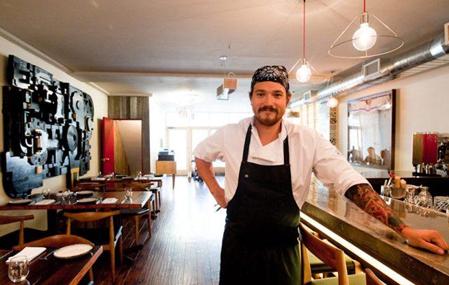 Chef Aaron Joseph Bear Robe closes Keriwa; announces a posh members-only wine club