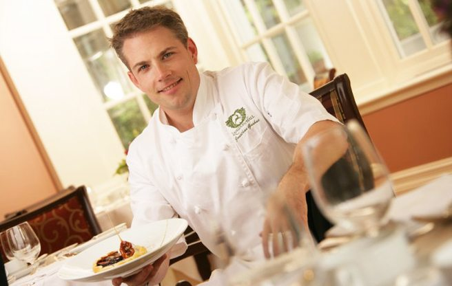 Jonathan Gushue is out as head chef at Cambridge country house Langdon Hall