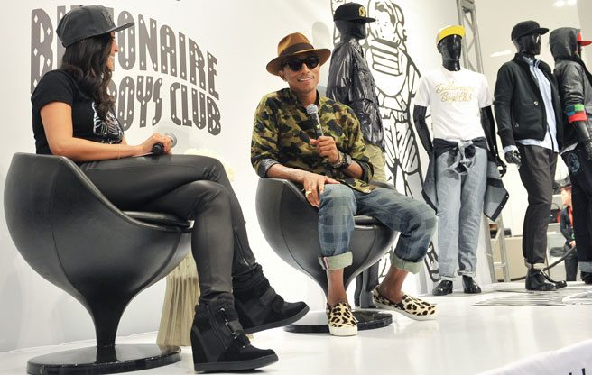 Pharrell Williams's trip to Toronto: hanging at Holt Renfrew and hitting Tim Hortons with Deadmau5