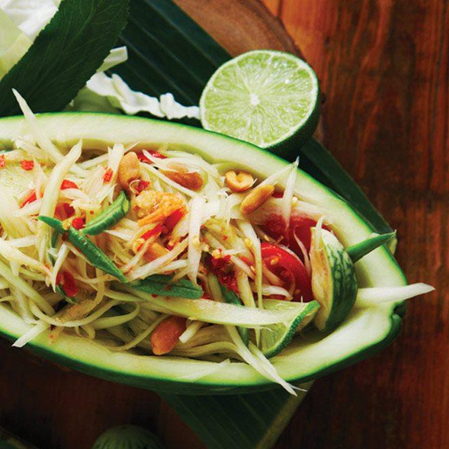 Recipe: Sabai Sabai chef Nuit Regular's beautifully balanced papaya salad