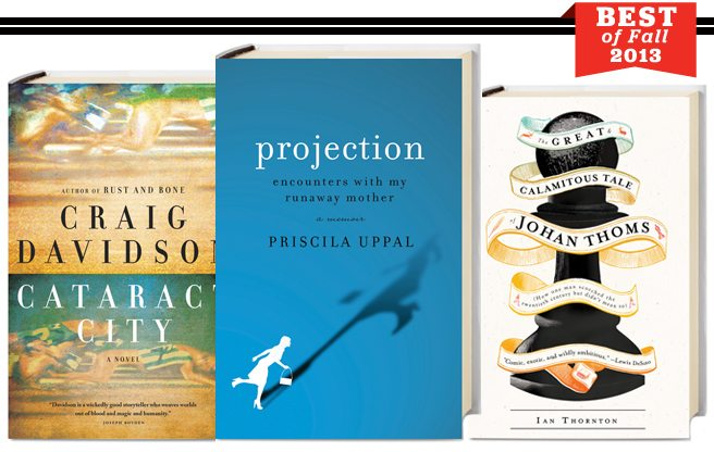 Best of Fall 2013: five books by Toronto writers you absolutely must read