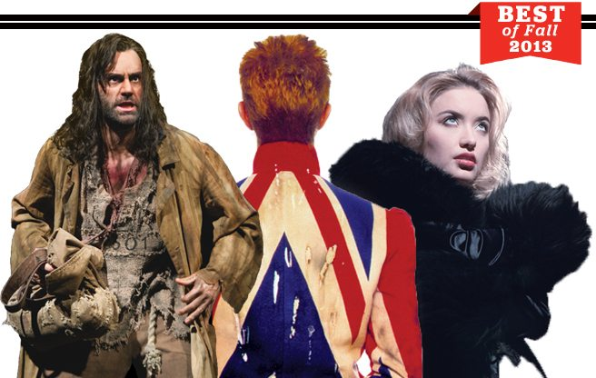Best of Fall 2013: our indispensable guide to the season's hottest movies, theatre, concerts, art, books and more