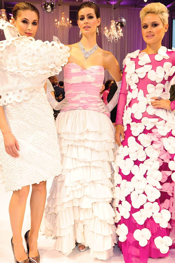 Slideshow: 11 extraordinarily elaborate gowns made out of toilet paper
