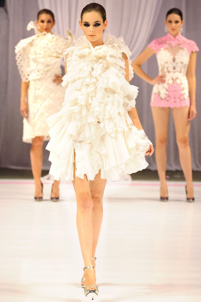 Cashmere Toilet Paper Fashion Show