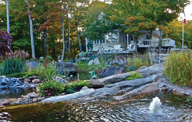 Cottage of the Week: $1.4 million for a Muskoka cottage surrounded by fountains and sculptures