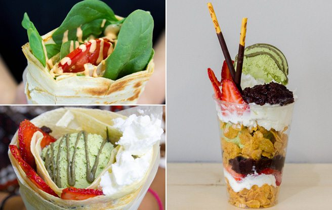 A new spot for Japanese crêpes and ice cream parfaits in Kensington Market