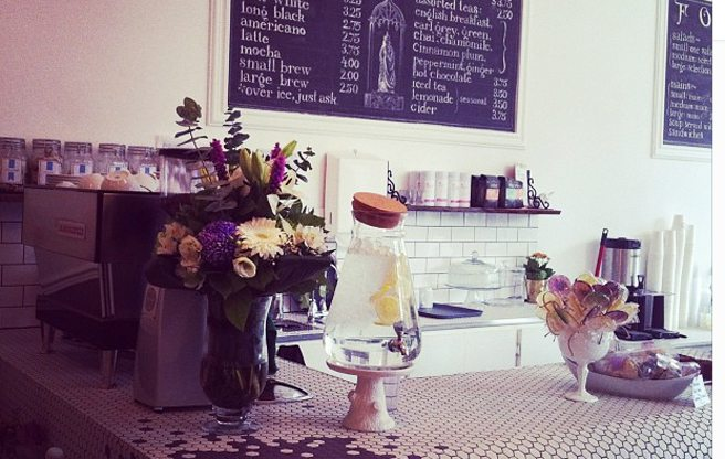 A dainty new café and brunch spot in Cabbagetown