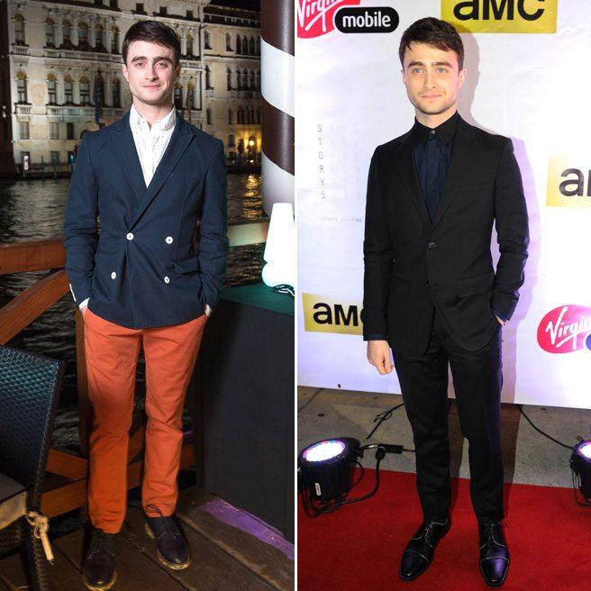 Venice vs. TIFF Fashion Showdown: Daniel Radcliffe Edition