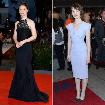 Venice vs. TIFF Fashion Showdown: Mia Wasikowska