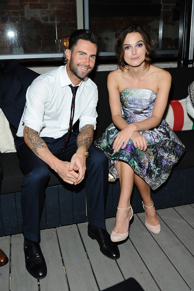 TIFF Party: Keira Knightley dazzles and Adam Levine slams vodka shots at the after-party for Can A Song Save Your Life?