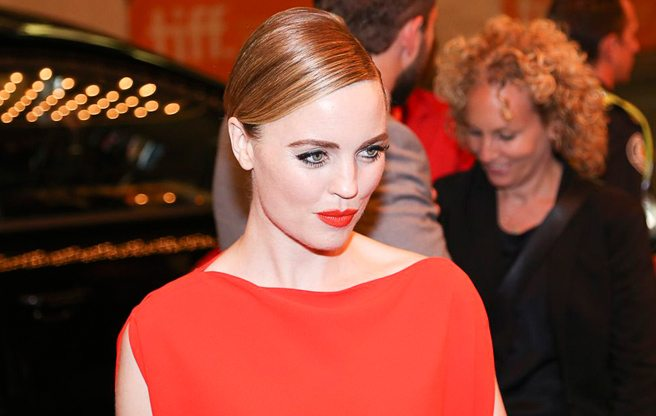 TIFF Red Carpet: Melissa George makes maternity wear glam at the gala for crime flick Felony