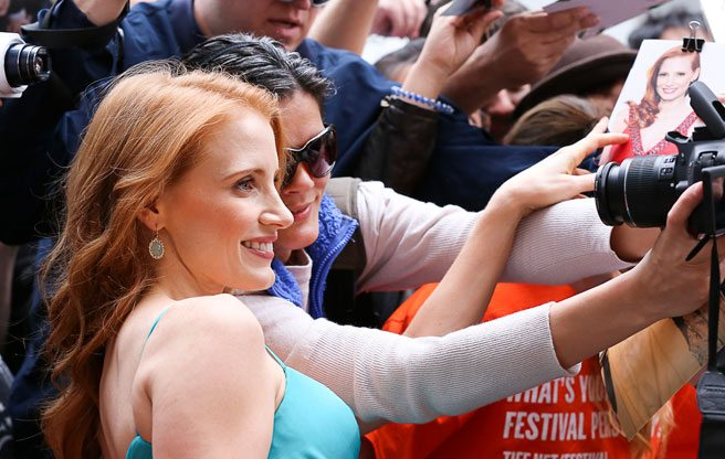 TIFF 2013 Trend: Stars getting friendly with fans