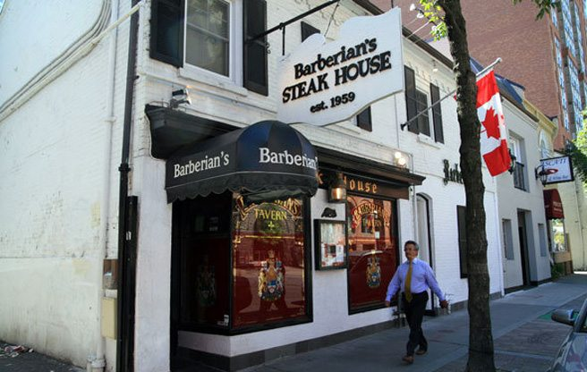Barberian's Steakhouse is opening a spin-off sandwich shop