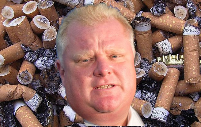 Quoted: Rob Ford on the Toronto health board's plan to make bar and restaurant patios smoke-free