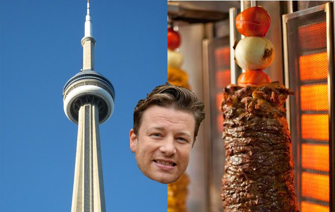 Quoted: Jamie Oliver comes to town, talks about eating the CN Tower