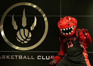 The Raptors kick off their season—minus their epic mascot