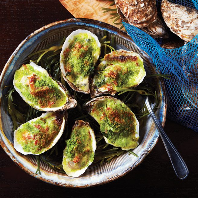 Recipe: the legendary oysters Rockefeller from Frank's Kitchen on College